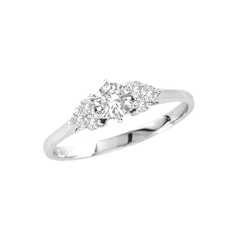 View 1/2cttw Diamond Engagement Ring in 14k Gold