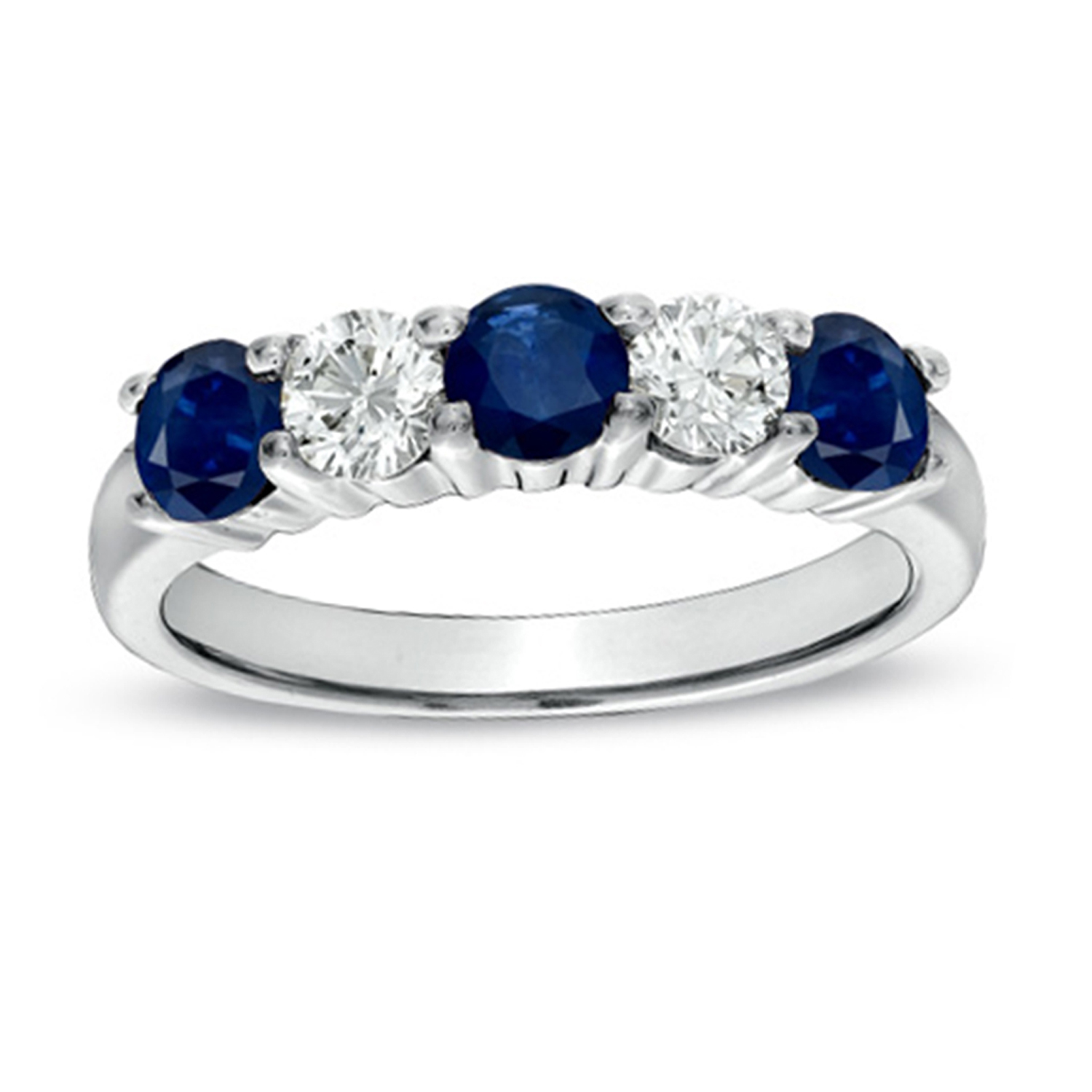 View 1.26cttw Sapphire and Diamond Ring set in 14k Gold