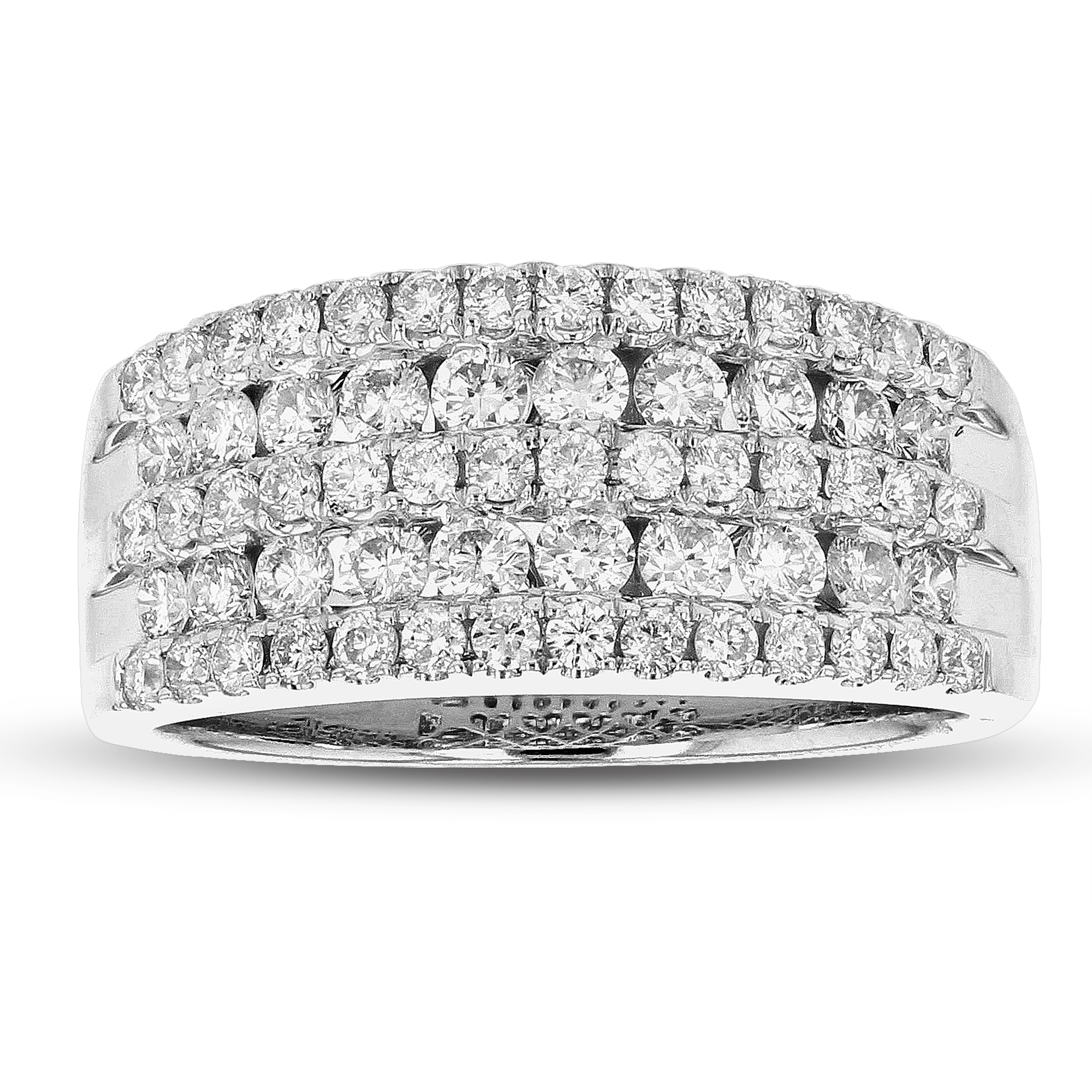 View 1.11ctw Diamond Fashion band in 18k White Gold