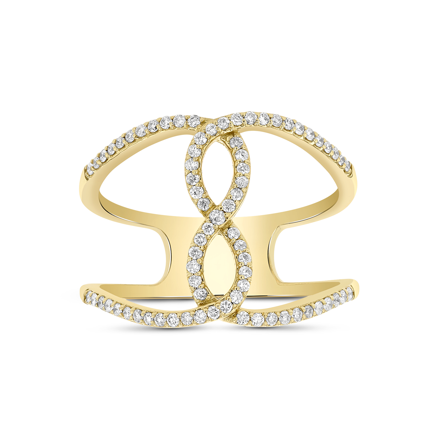 View 0.27ctw Diamond Fashion Ring in 14k Yellow Gold