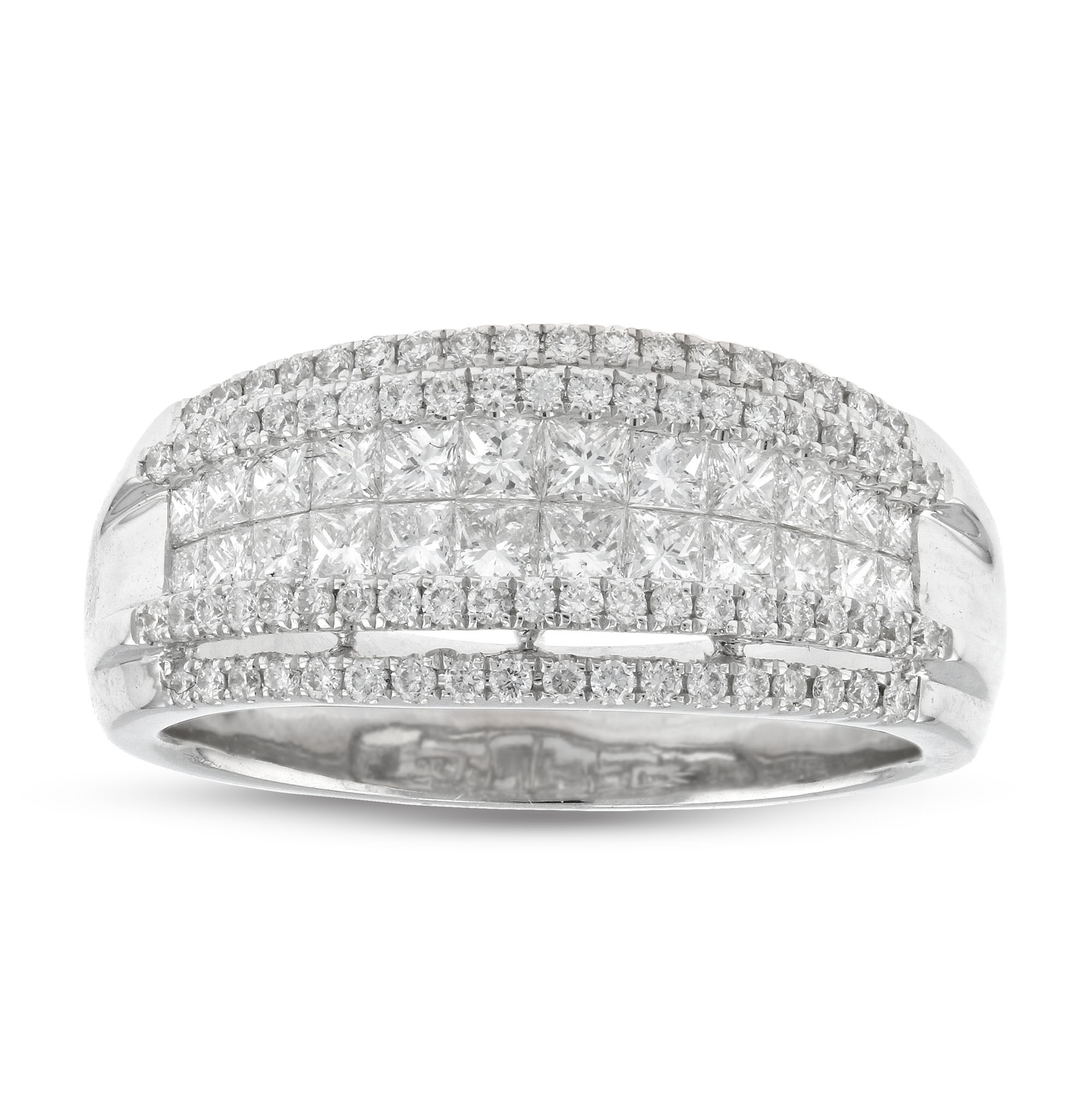 View 1.07ctw Fashion Band in 18k White Gold